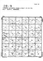 Township 28 North - Range 9 West, Page - East, Holt County 1948